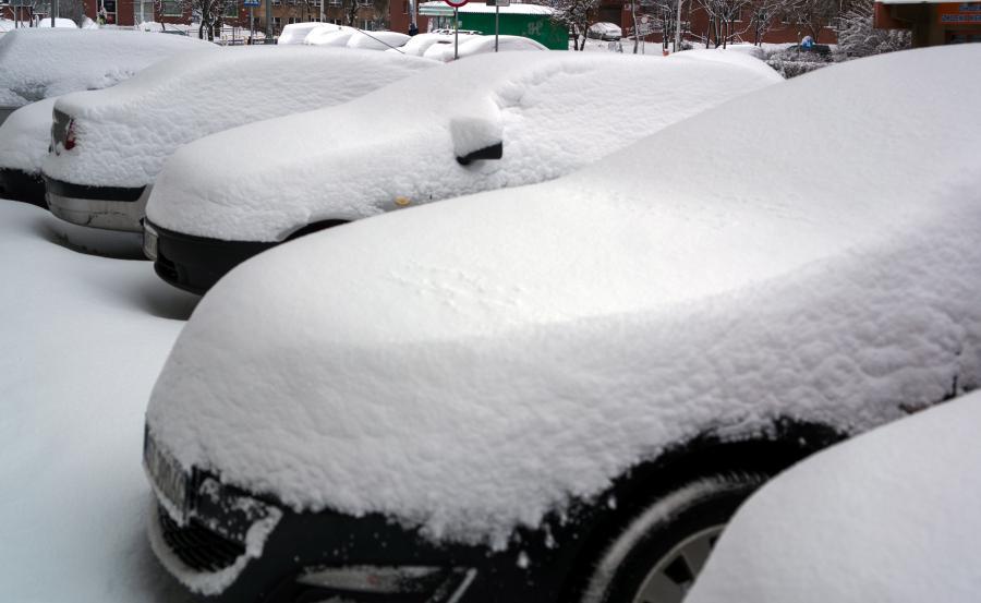Atak zimy w Katowicach