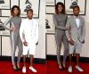 Im dziwniej tym głośniej? Gwiazdy na Grammy: Pharrell Williams z żoną Helen Lasichanh