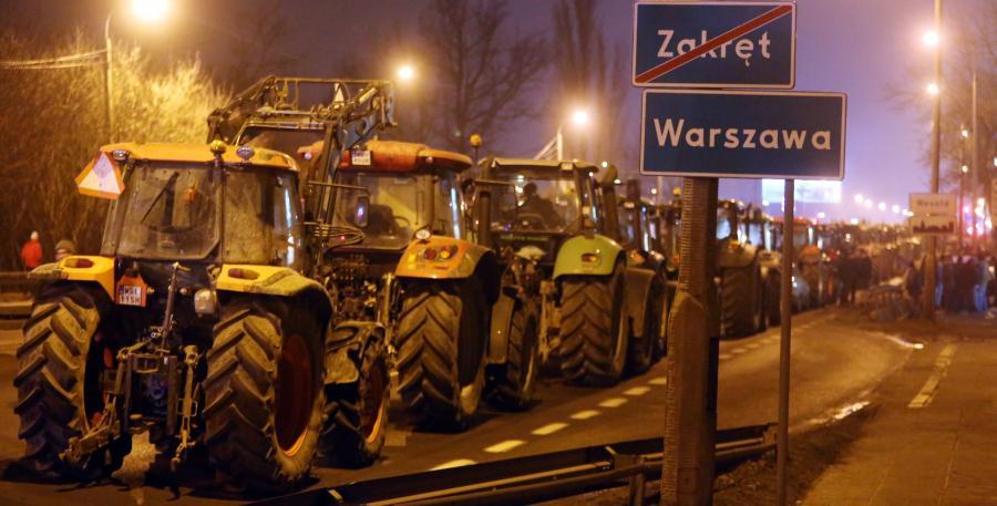 Rolnicza blokada