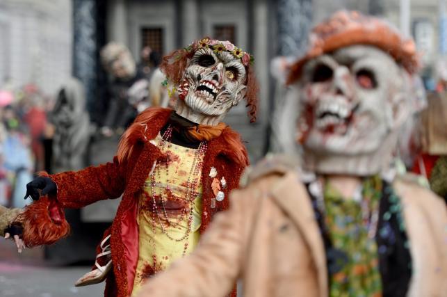 Horror na ulicach! Niezwykły karnawał w Lucernie