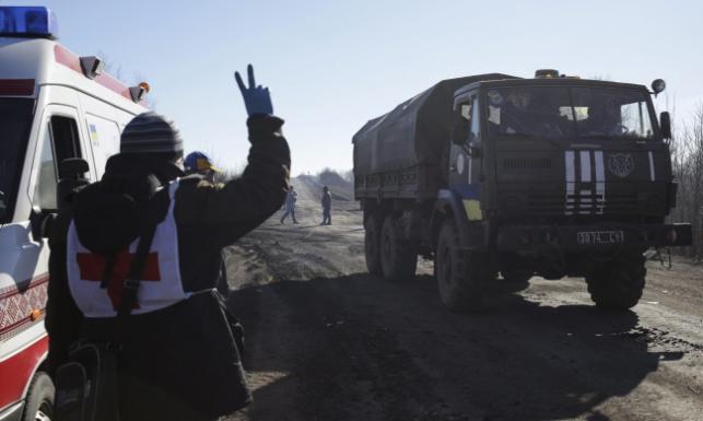 Debalcewe upadło. Ukraińscy żołnierze wycofują się z miasta. ZOBACZ ZDJĘCIA