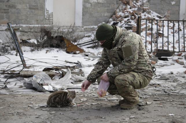 Wschód Ukrainy. Krajobraz po bitwie