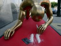 Oscar wciąga kokainową kreskę [ZDJĘCIA]