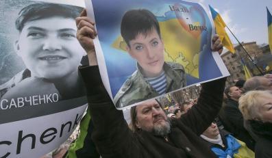 Demonstracja na rzecz uwolnienia Nadii Sawczenko, Kijów