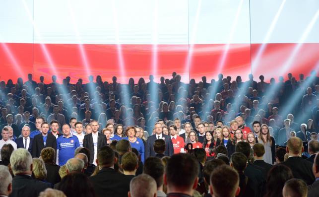 Konwencja wyborcza Bronisława Komorowskiego w Warszawie