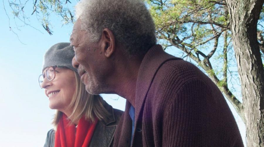 Diane Keaton i Morgan Freeman w filmie \