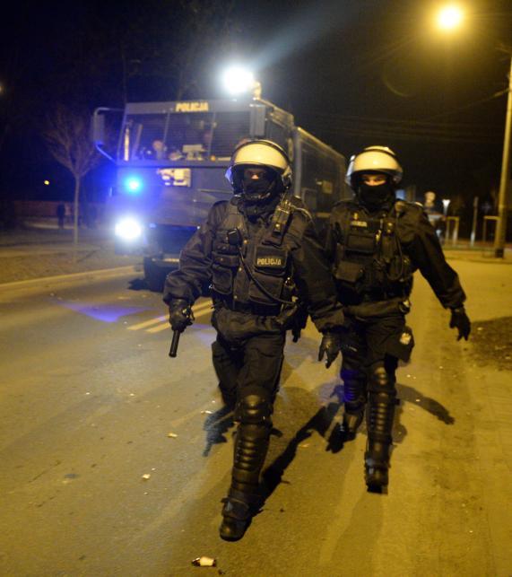 Nocne zamieszki w Legionowie po śmierci 19-latka