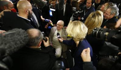 Jean-Marie Le Pen, były szef Frontu Narodowego