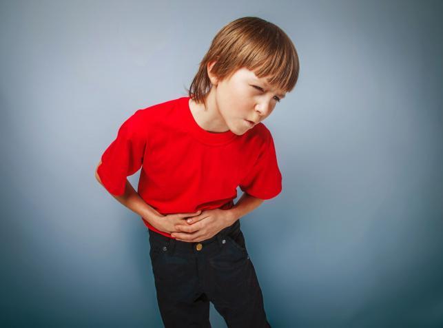 1. Ból brzucha