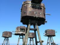 Niezwykłe Forty Maunsella na Tamizie. ZDJĘCIA