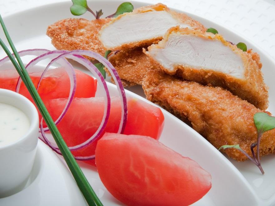 Filety z kurczaka w chrupiącej panierce kukurydzianej