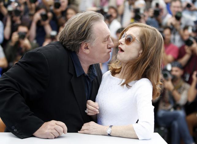 "Gerard Depardieu i Isabelle Huppert –gwiazdy filmu ""Valley of Love"" w Cannes"