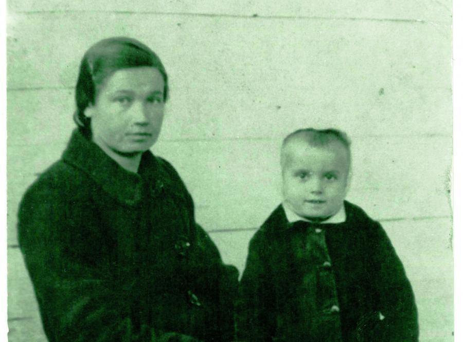Babcia Anny Janko, Józia. Jedyne zachowane zdjęcie, zrobione kilkanaście miesięcy przed śmiercią (fot. archiwum Anny Janko)