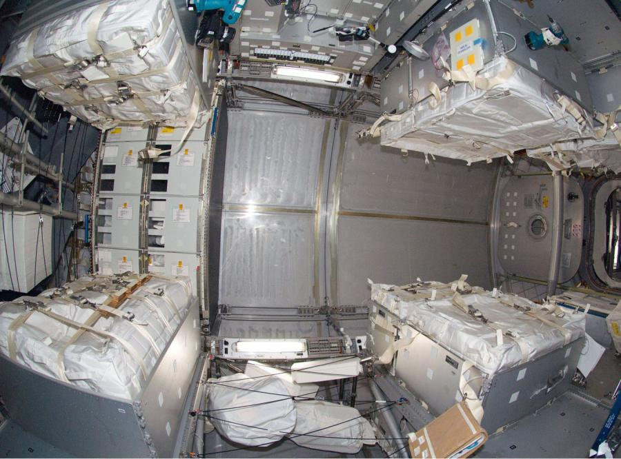Międzynarodowa Stacja Kosmiczna robi się coraz przytulniejsza