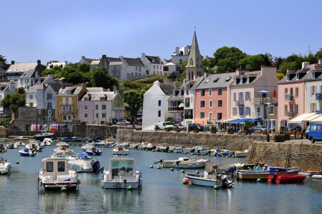 Belle-Ile-en-Mer, Bretania, Francja