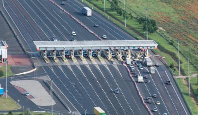 Autostrada A1, bramki do poboru opłat