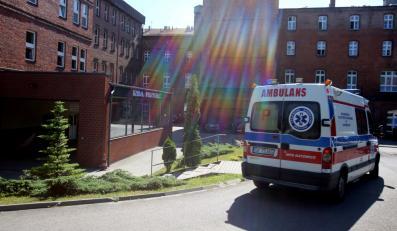 Szpital Zakonu Bonifratrów w Katowicach, gdzie z objawami zatrucia dopalaczem trafiło 11 osób