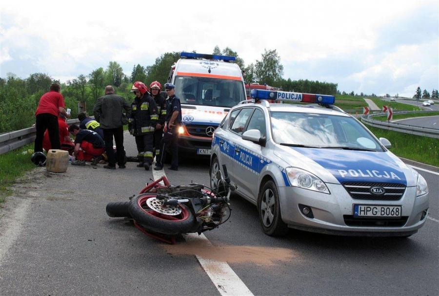 Zginął motocyklista. Uciekał od policji