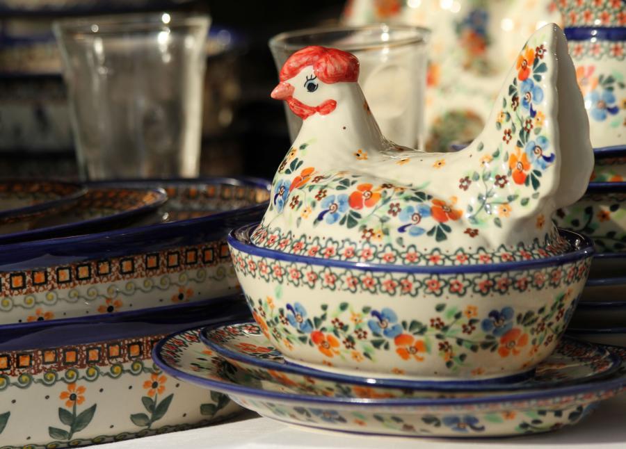 Bolesławiec słynie z pięknej ceramiki