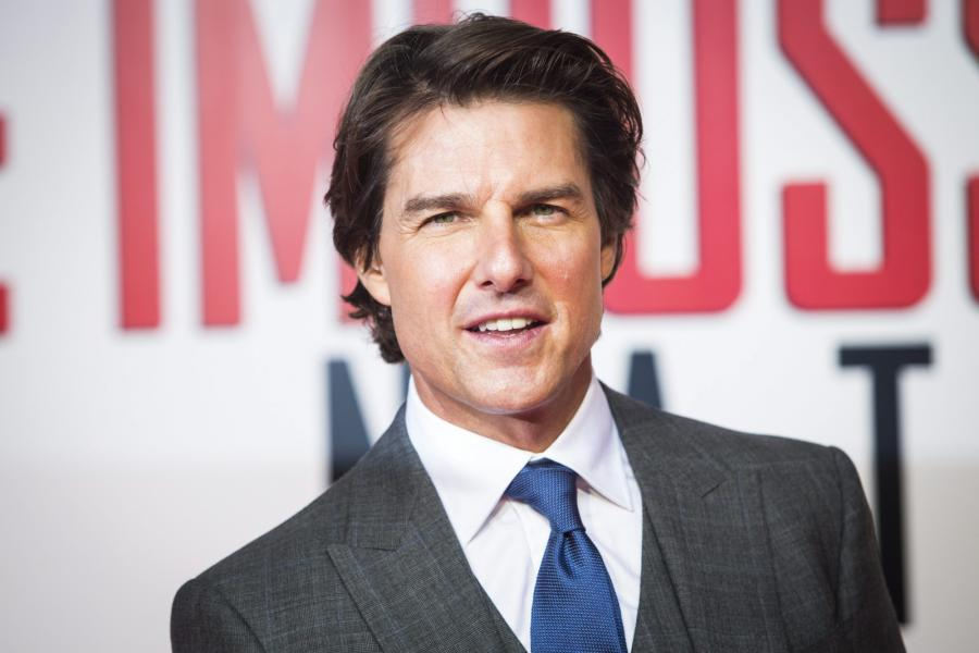 Tom Cruise na premierze \