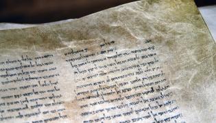 Biblijny rękopis z Qumran, czyli zwoje znad Morza Martwego