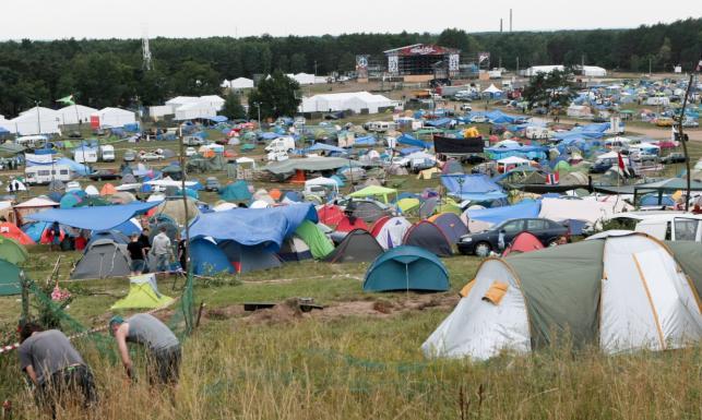 Kierowcy nie wjadą już na teren Przystanku Woodstock