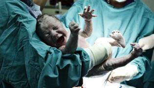Narodziny dziecka w szpitalu