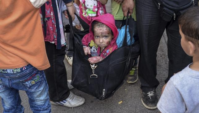 Nielegalni imigranci z Syrii