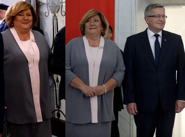 Anna Komorowska na zaprzysiężeniu Andrzeja Dudy na prezydenta