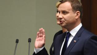 Andrzej Duda składa przysięgę