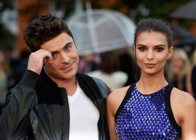 "Zac Efron i Emily Ratajkowski na premierze ""We Are Your Friends"""