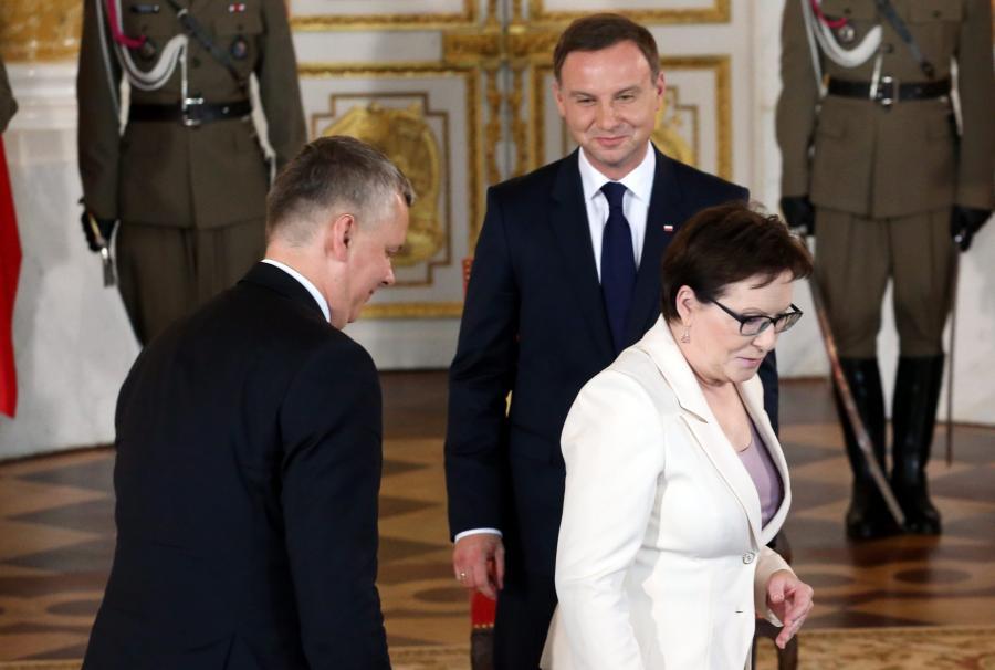 Andrzej Duda;Ewa Kopacz;Tomasz Siemoniak