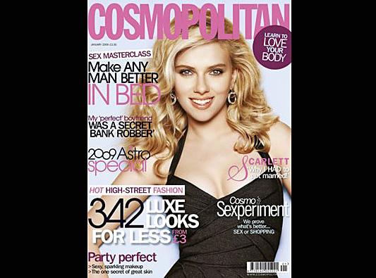Scarlett Johansson pozywa Cosmo