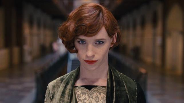 """Eddie Redmayne w filmie """"Dziewczyna z portretu"""""""