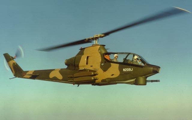 Szturmowy AH-1 Cobra od 50 lat w służbie. ZDJĘCIA