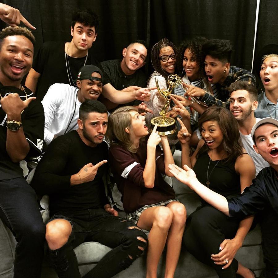 Taylor Swift świętuje zdobycie nagrody Emmy