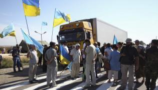 Blokada na Krymie