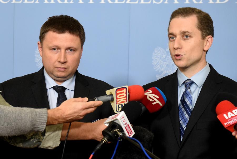 Marcin Kierwiński i Cezary Tomczyk