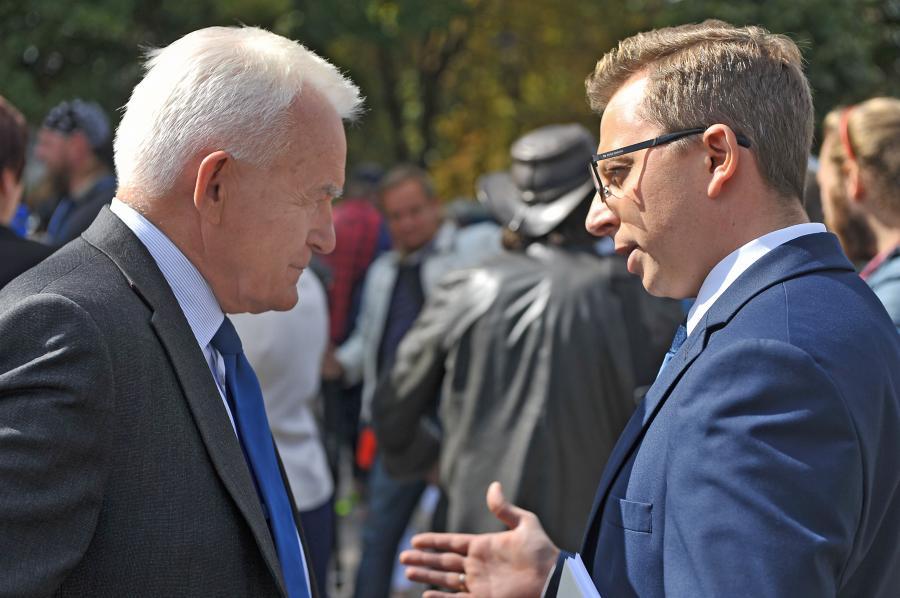 Leszek Miller i Dariusz Joński