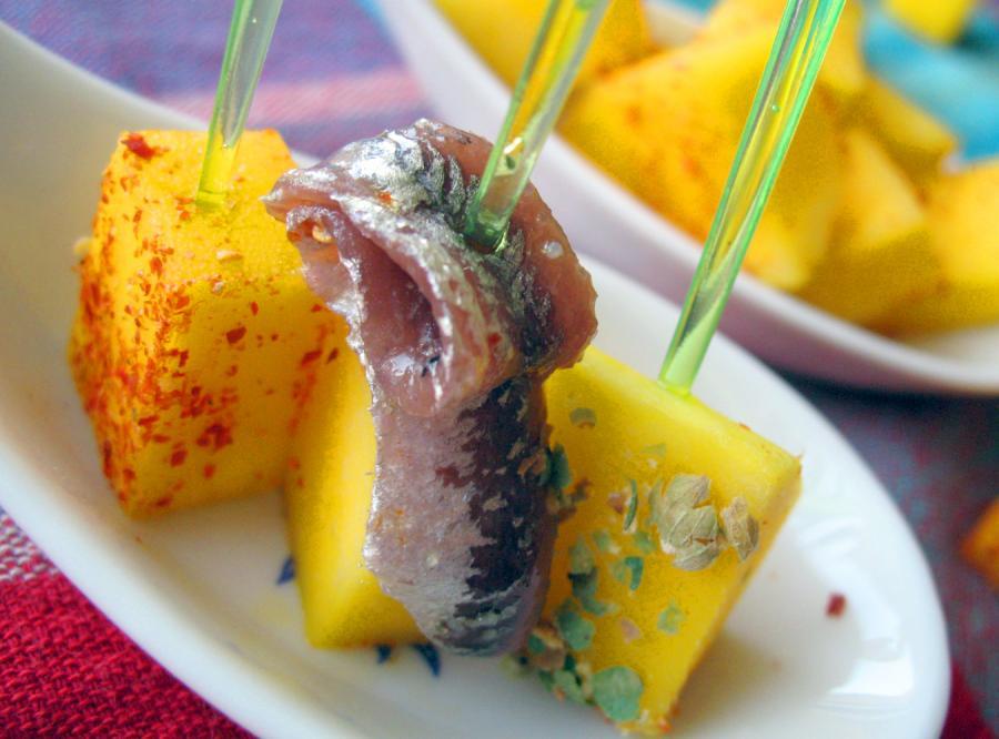 Imprezowe przepisy z melonem i mango