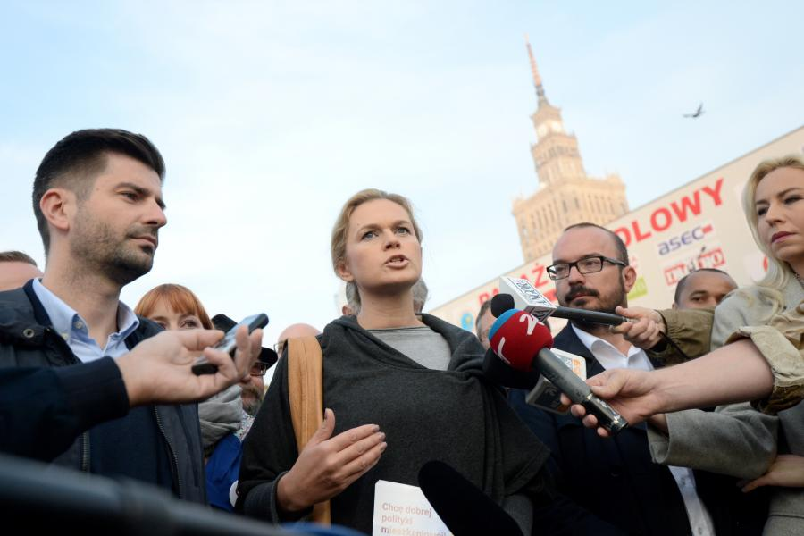 Barbara Nowacka, współprzewodnicząca partii Twój Ruch, kandydatka Zjednoczonej Lewicy na premiera