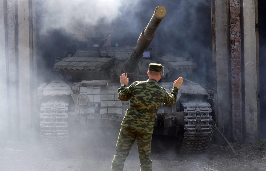 Czołgi na Ukrainie