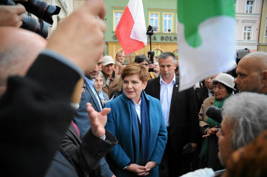 Beata Szydło we Wrocławiu