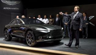 Aston Martin DBX i Andy Palmer