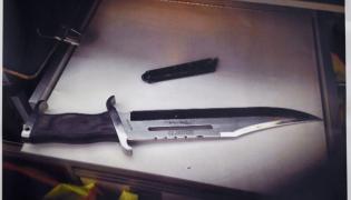 Nóż, którym zaatakowano Henriette Reker