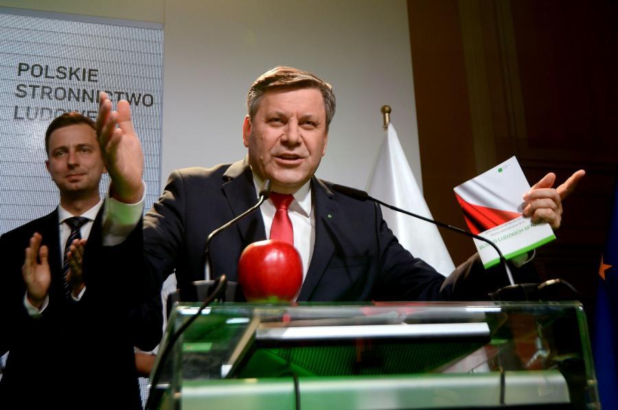 Polskie Stronnictwo Ludowe - 5,7 proc.