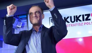Lider ruchu Kukiz'15 Paweł Kukiz