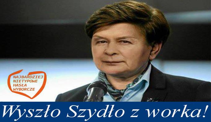 Jarosław Kaczyński - mem / Najbardziej nietypowe hasła wyborcze