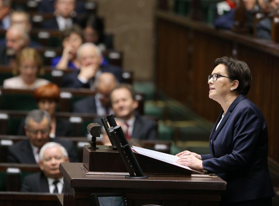 Premier Ewa Kopacz złożyła dymisję swojego rządu