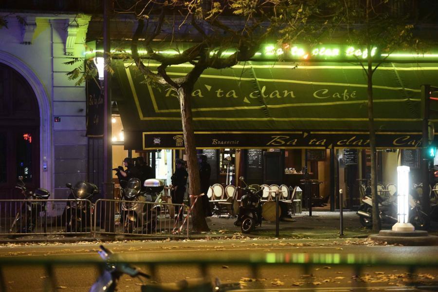 Seria zamachów w Paryżu - Bataclan